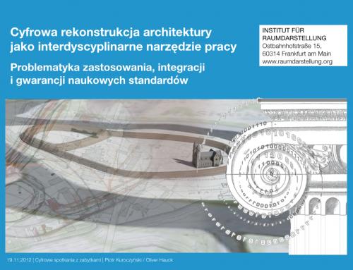 Vortrag in Breslau