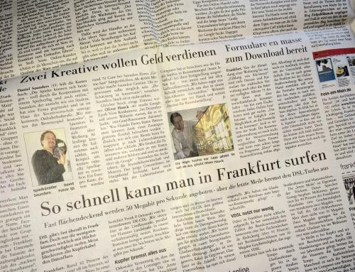 Das IfR in der Frankfurter Neuen Presse