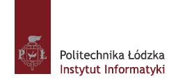 Politechnika Łódzka, Instytut Informatyki