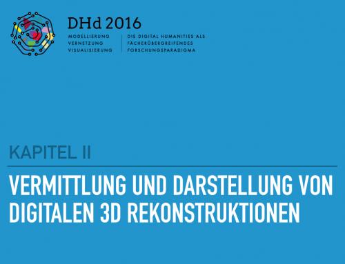 Vortrag DHd 2016 in Leipzig