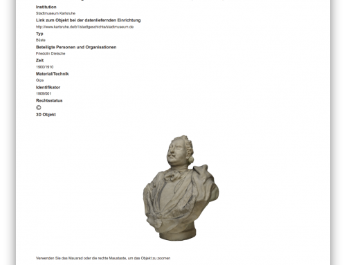 3D Scan des IfR in der Deutschen Digitalen Bibliothek
